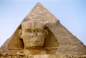 Gizah Piramide in Egypte - Wikipedia