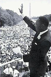 I have a dream door Martin Luther King jr.