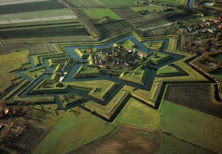 Bourtange, een schot in de roos